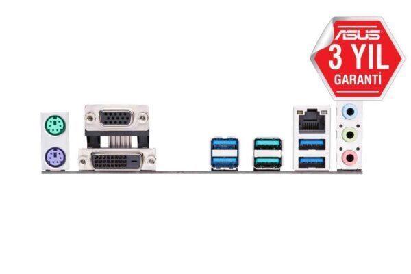 ASUS PRIME B450M-K AMD B450 AM4 DDR4 4400 Mhz M2 USB 3.2 mATX Anakart Anakart en iyi fiyat 5