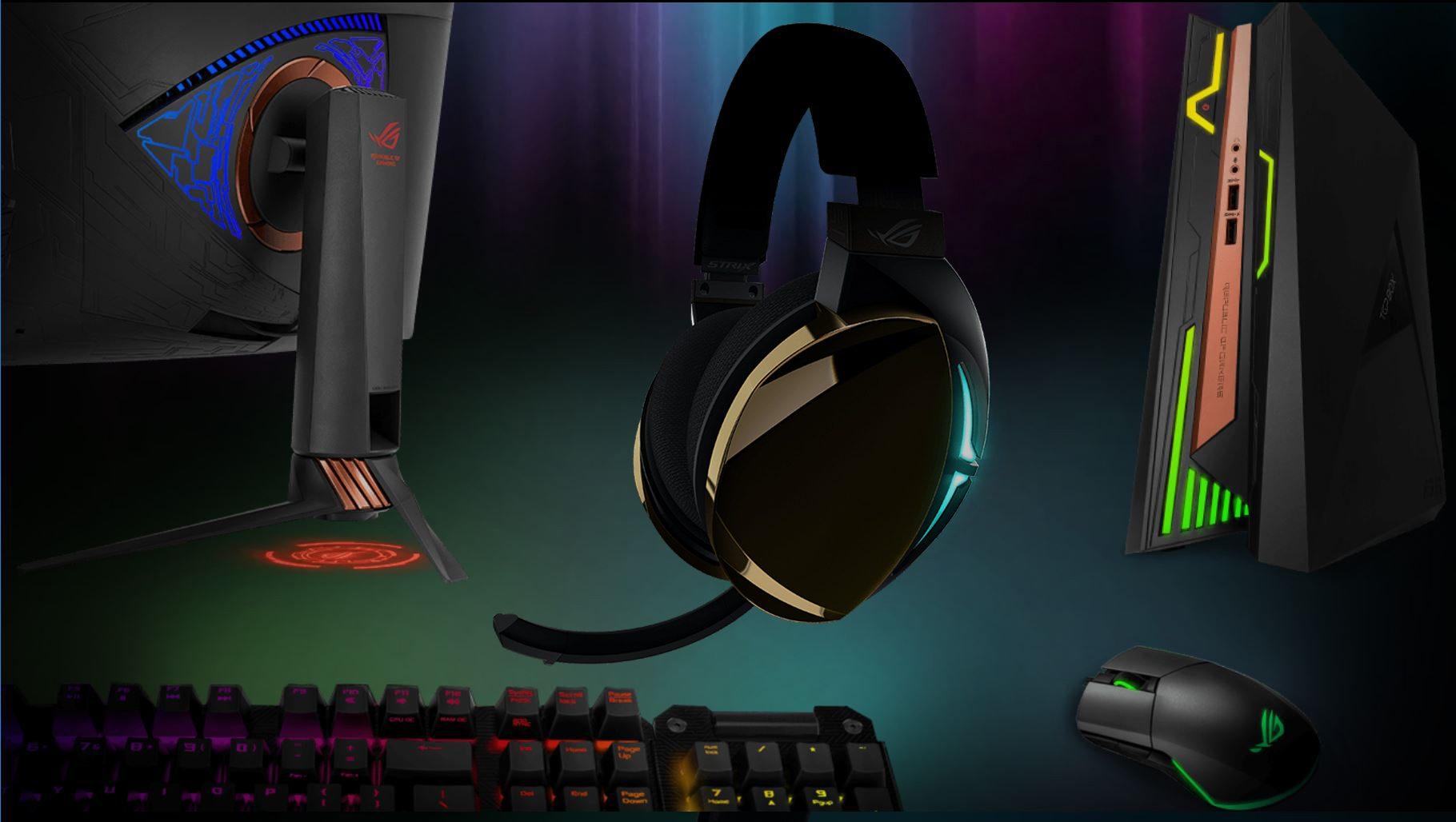 6 3322 - Asus ROG Strix Fusion 500 Aura Sync RGB 7.1 Oyuncu Kulaklığı