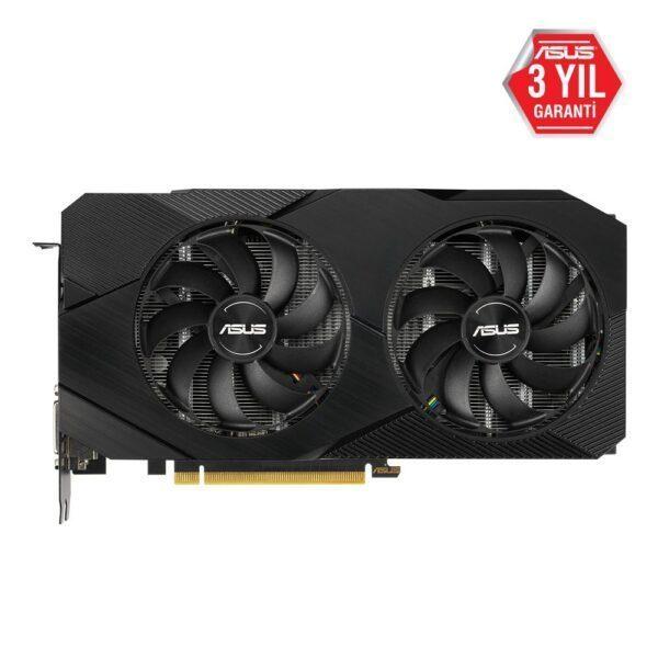 DUAL RTX2060 O6G EVO 2 - ASUS DUAL GeForce RTX 2060 OC EVO 6GB GDDR6 192 Bit Ekran Kartı
