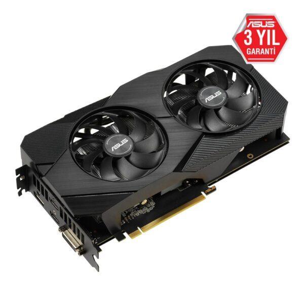 DUAL RTX2060 O6G EVO 3 - ASUS DUAL GeForce RTX 2060 OC EVO 6GB GDDR6 192 Bit Ekran Kartı