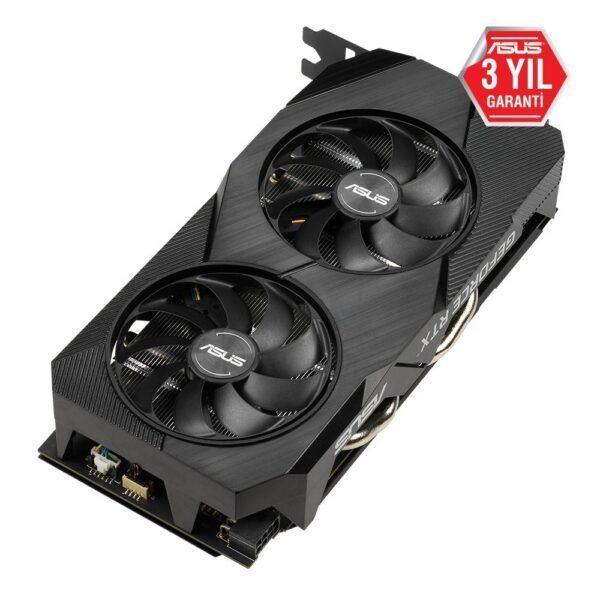 DUAL RTX2060 O6G EVO 4 - ASUS DUAL GeForce RTX 2060 OC EVO 6GB GDDR6 192 Bit Ekran Kartı