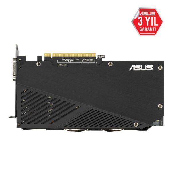 DUAL RTX2060 O6G EVO 5 - ASUS DUAL GeForce RTX 2060 OC EVO 6GB GDDR6 192 Bit Ekran Kartı