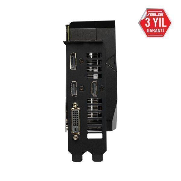 DUAL RTX2060 O6G EVO 7 - ASUS DUAL GeForce RTX 2060 OC EVO 6GB GDDR6 192 Bit Ekran Kartı