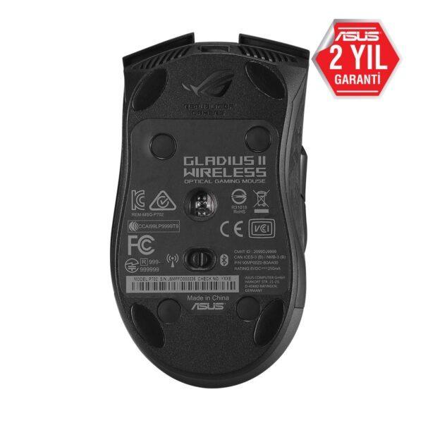ASUS Gladius II Wireless Aura Sync RGB Gaming Mouse Mouse en iyi fiyat 8