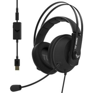 ASUS TUF Gaming H7 Gun Metal 7.1 Oyuncu Kulaklık Kulaklık en iyi fiyat 2