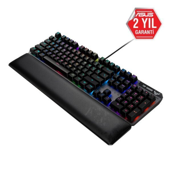 ASUS TUF Gaming K7 Optik RGB Türkçe Mekanik Gaming Klavye Klavye en iyi fiyat 4