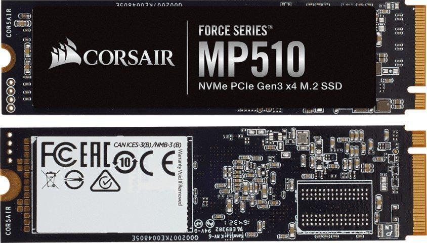 CORSAIR 1920GB Force MP510 NVMe M.2 SSD (3480MB Okuma / 2700MB Yazma)