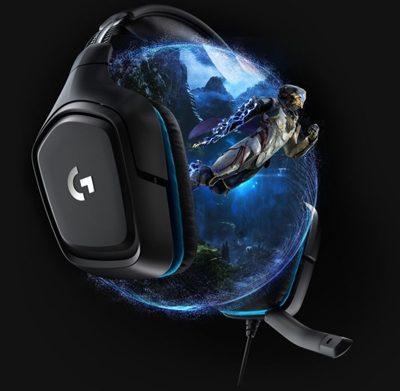 Logitech G432 7.1 Surround Siyah Gaming Kulaklık
