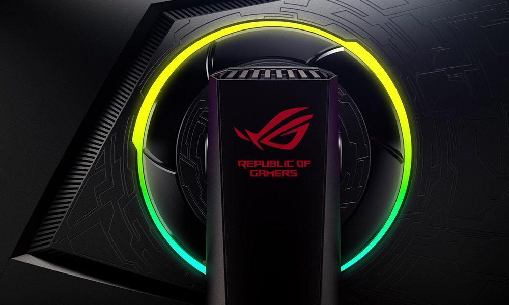 """ASUS ROG STRIX 24.5"""" XG258Q 240Hz 1ms HDMI DP FHD AuraRGB Freesync ve G-sync Uyumlu Gaming Monitör"""