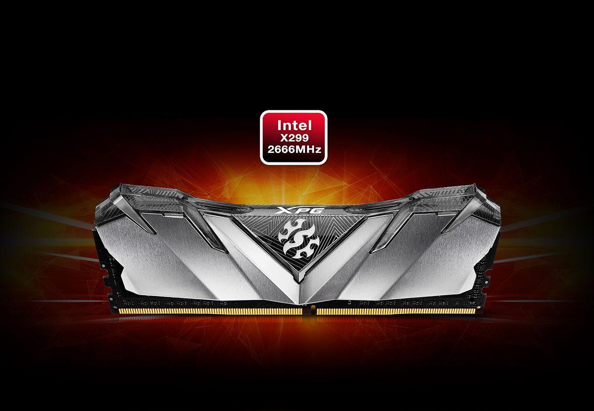 XPG 8GB Gammix D30 Kırmızı 3000MHz CL16 DDR4 Single Kit Ram