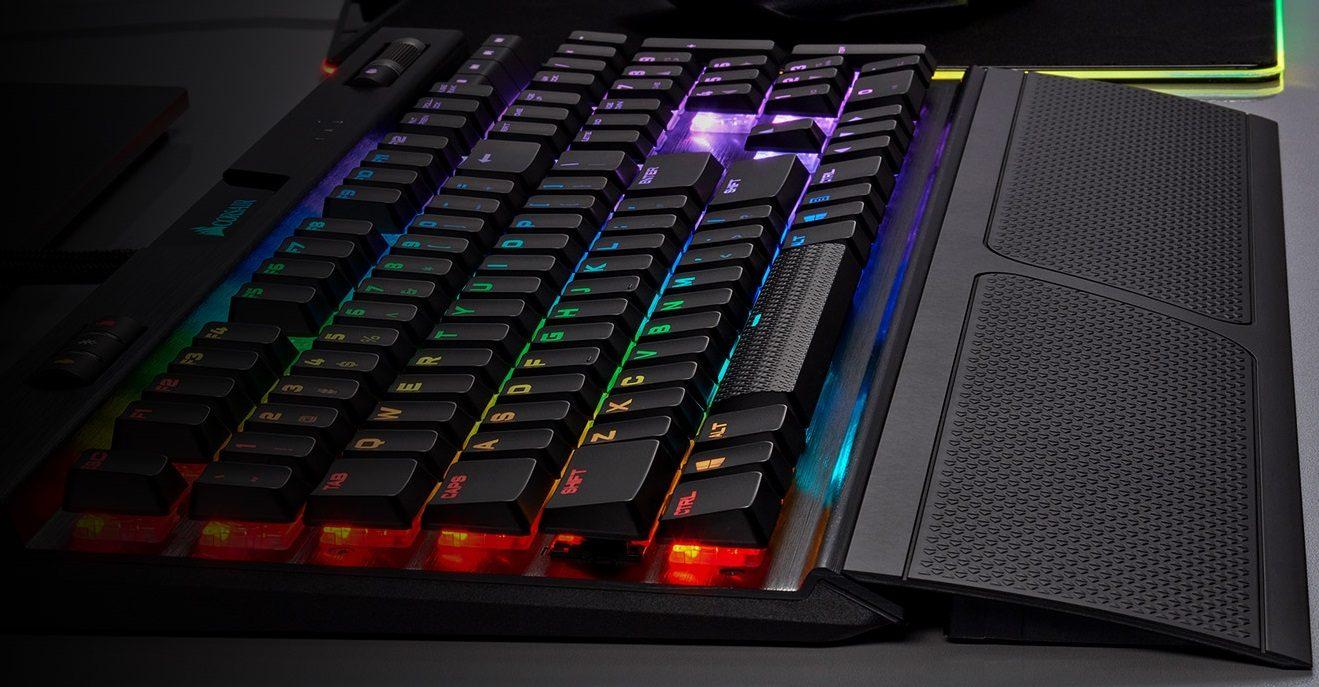 Corsair K70 RGB MK.2 Rapidfire Cherry MX Speed Low Profile TR Mekanik Gaming Klavye