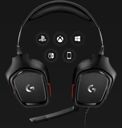 Logitech G332 Kablolu Gaming Kulaklık