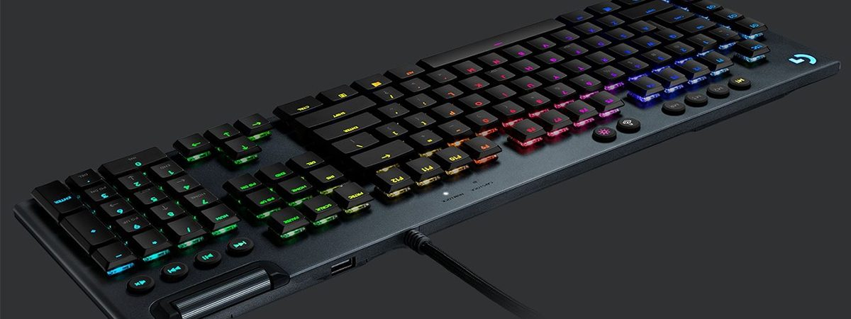 3 logitech g815 lightsync rgb gl clicky ingilizce mekanik gaming klavye 3858 - Logitech G815 LightSync RGB GL Tactile Türkçe Mekanik Gaming Klavye