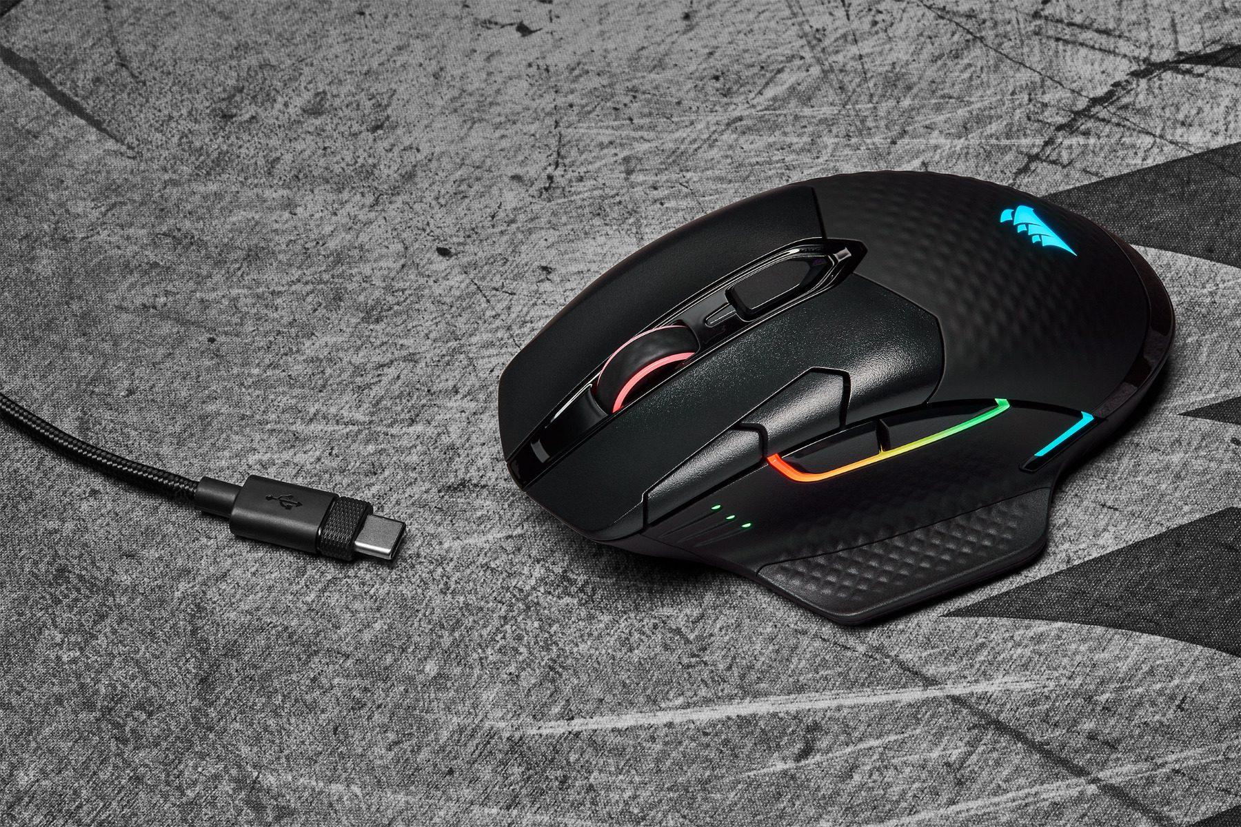 5 corsair dark core rgb pro se kablosuz gaming mouse 5467 - Corsair Dark Core RGB Pro SE Kablosuz Gaming Mouse