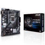 ASUS PRIME H410M-K 2933MHz DDR4 Soket 1200 HDMI VGA mATX Anakart Anakart en iyi fiyat
