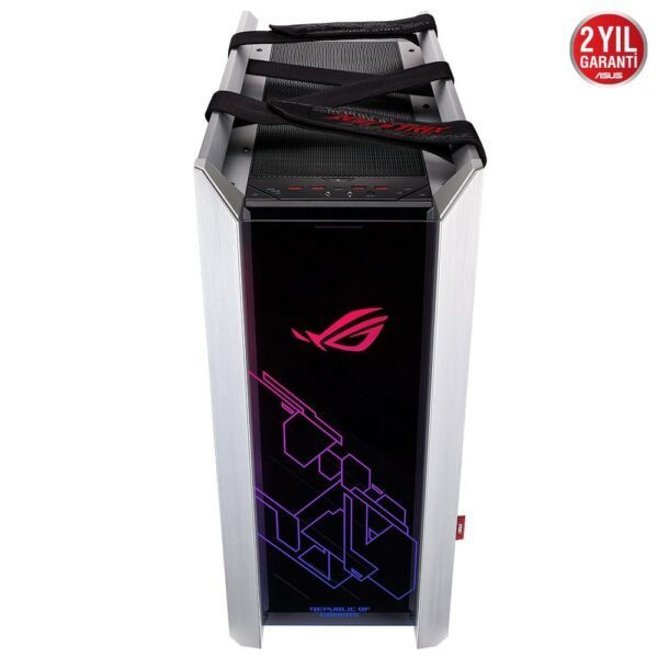 ASUS ROG Strix Helios White Edition Tempered Glass RGB USB 3.1 Mid Tower Kasa - Kasa 5