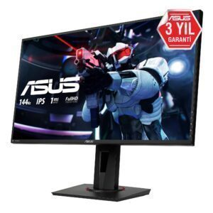 ASUS 27″ VG279Q 144Hz 1ms Full HD IPS DP HDMI DVI-D Freesync Gaming Monitör Monitör en iyi fiyat