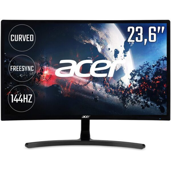 "acer ed242qrabidpx 23 6 4ms 144 hz dvihdmidisplay full hd curved led monitor 1 - Acer ED242QRAbidpx 23.6"" 4ms 144 Hz DP HDMI DVI Full HD Curved Gaming Monitör"