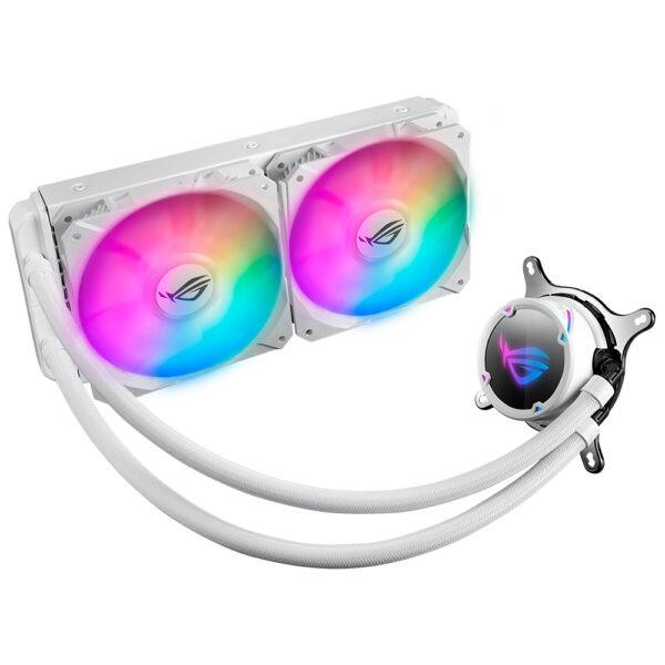 ASUS ROG STRIX LC 240 RGB White Edition 240mm İşlemci Sıvı Soğutucu Sıvı Soğutma en iyi fiyat