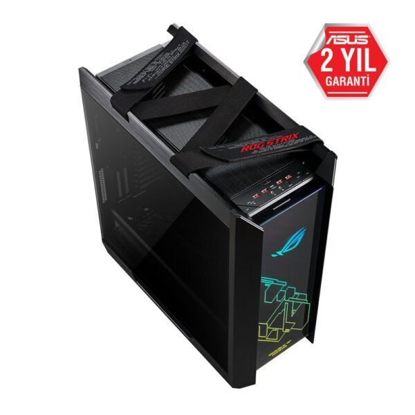 asus tuf gaming gt501 temperli cam rgb fanli gaming kasa 8 - ASUS ROG Strix Helios Tempered Glass RGB USB 3.1 Mid Tower Kasa
