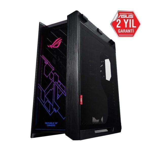 asus tuf gaming gt501 temperli cam rgb fanli gaming kasa 91 - ASUS ROG Strix Helios Tempered Glass RGB USB 3.1 Mid Tower Kasa