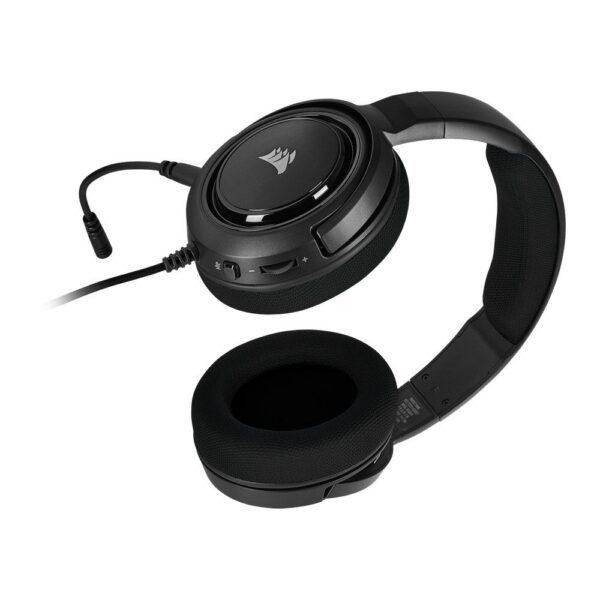 Corsair HS35 STEREO Siyah Gaming Kulaklık Kulaklık en iyi fiyat 4