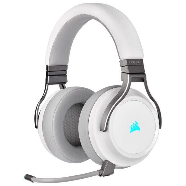 Corsair Virtuoso RGB Kablosuz Kulaklık – Beyaz Kulaklık en iyi fiyat