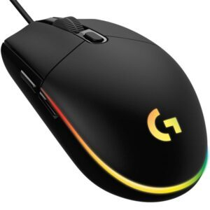 Logitech G102 LightSync Black Gaming Mouse - Mouse 3
