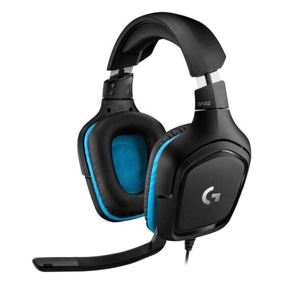 Logitech G432 7.1 Surround Siyah Gaming Kulaklık Kulaklık en iyi fiyat