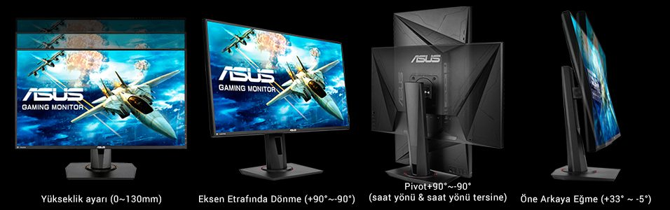 "10 asus vg278qr 27 165hz 0 5ms dvi d hdmi dp freesync ve g sync uyumlu gaming monitor 13708 - ASUS VG278QR 27"" 165Hz 0.5ms DVI-D HDMI DP Freesync ve G-sync Uyumlu Gaming Monitör"