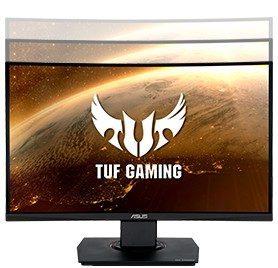 "ASUS TUF GAMING VG24VQ 23.6"" 144Hz 1ms Display Port HDMI Freesync Curved Gaming Monitör"
