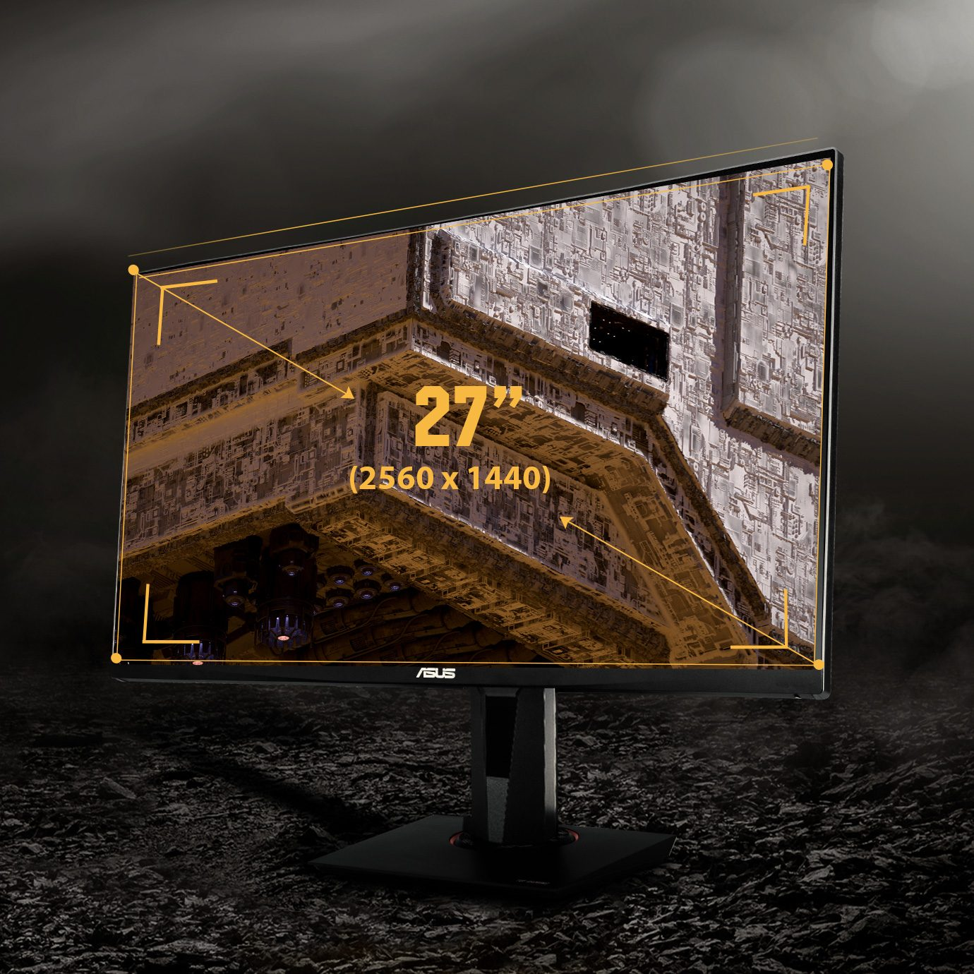 "2 asus tuf gaming vg27aq 27 165hz 1ms 2xhdmi dp wqhd hdr ips g sync uyumlu gaming monitor 13772 - ASUS TUF GAMING VG27AQ 27"" 2560x1440 WQHD 165Hz 1ms HDMI DP HDR IPS G-Sync Uyumlu Gaming Monitör"
