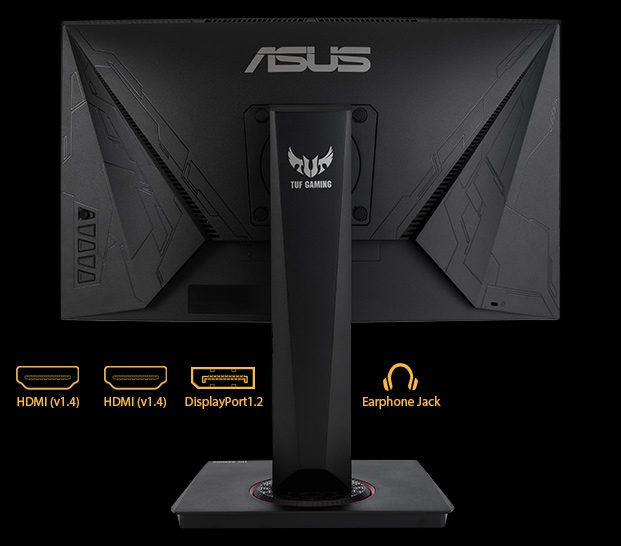 "6 asus tuf gaming vg24vq 23 6 144hz 1ms 2xhdmi dp freesync curved gaming monitor 13557 - ASUS TUF GAMING VG24VQ 23.6"" 144Hz 1ms Display Port HDMI Freesync Curved Gaming Monitör"