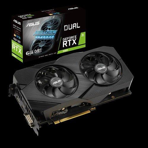 ASUS DUAL GeForce RTX 2060 EVO 6GB GDDR6 192 Bit Ekran Kartı