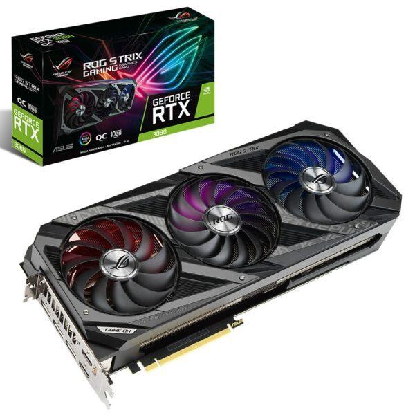 asus geforce rog strix rtx 3080 gaming oc 10gb gddr6x 320bit dx12 ekran karti - ASUS GeForce ROG STRIX RTX 3080 GAMING OC 10GB GDDR6X 320Bit DX12 Ekran Kartı