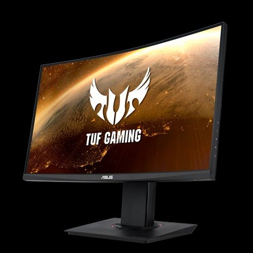 "asus tuf gaming vg24vq 23 6 144hz 1ms 2xhdmi dp freesync curved gaming monitor 13557 - ASUS TUF GAMING VG24VQ 23.6"" 144Hz 1ms Display Port HDMI Freesync Curved Gaming Monitör"