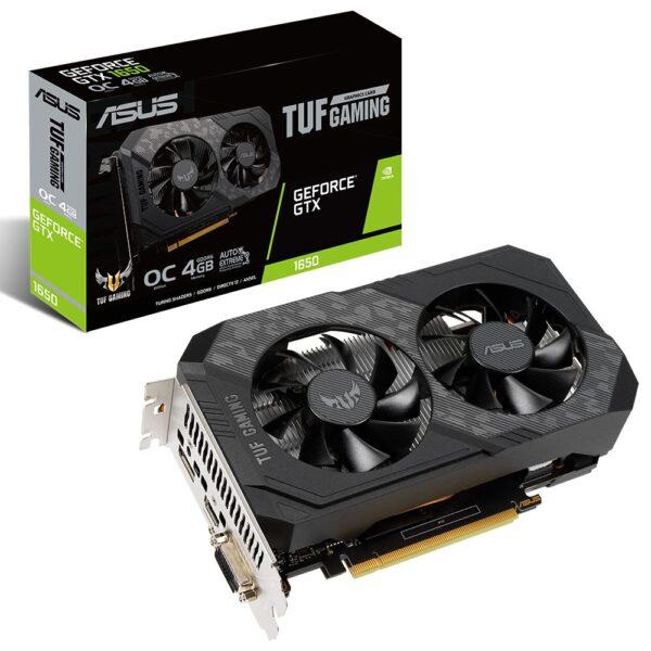 asus tuf geforce gtx 1650 oc 4gb gddr6 128 bit ekran karti - ASUS TUF GeForce GTX 1650 OC 4GB GDDR6 128 Bit Ekran Kartı