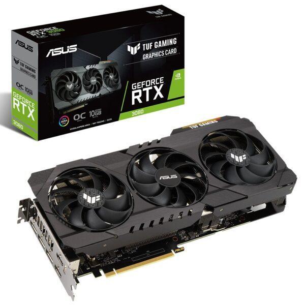 asus tuf geforce rtx 3080 oc 10gb gddr6x 320 bit ekran karti - ASUS TUF GeForce RTX 3080 OC 10GB GDDR6X 320 Bit Ekran Kartı
