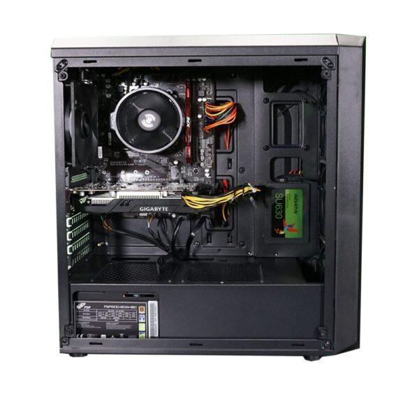 PC HOCASI-GG2 / AMD Ryzen 5 1600 AF / GIGABYTE GTX 1650 4GB / 8GB RAM / 240GB SSD Gaming Bilgisayar - NVIDIA Hazır Sistemler 3