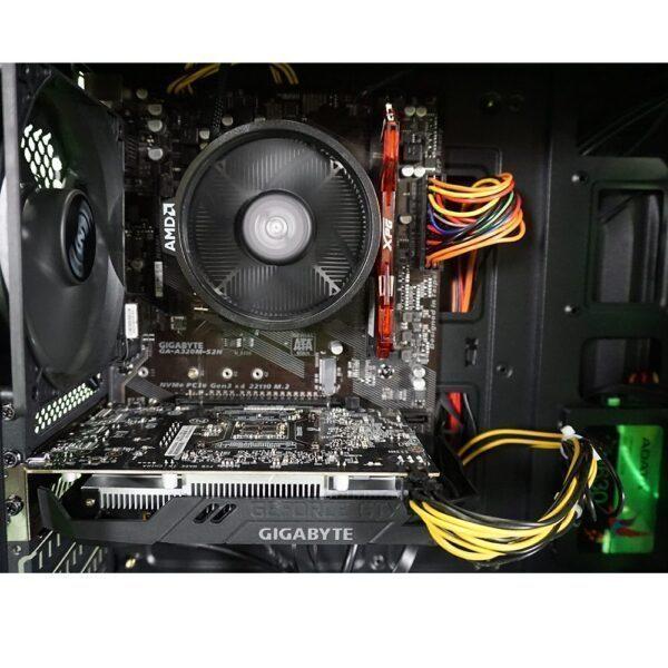 PC HOCASI-GG2 / AMD Ryzen 5 1600 AF / GIGABYTE GTX 1650 4GB / 8GB RAM / 240GB SSD Gaming Bilgisayar - NVIDIA Hazır Sistemler 2