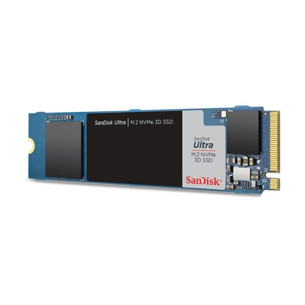 sandisk ultra 3d 500gb nvme m 2 ssd 2400mb okuma 1750mb yazma 1 - SANDISK Ultra 3D 500GB NVMe M.2 SSD (2400MB Okuma / 1750MB Yazma)