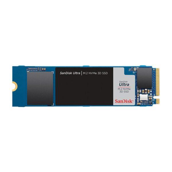 sandisk ultra 3d 500gb nvme m 2 ssd 2400mb okuma 1750mb yazma - SANDISK Ultra 3D 500GB NVMe M.2 SSD (2400MB Okuma / 1750MB Yazma)