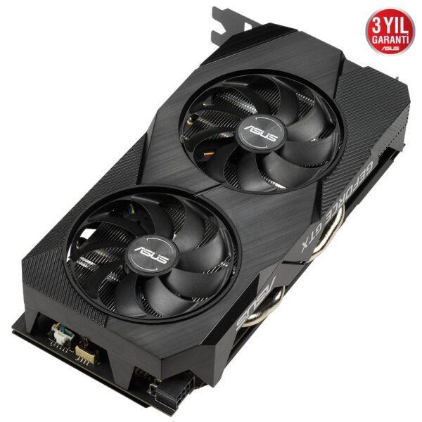 asus dual geforce gtx 1660 super oc evo 6gb gddr6 192 bit ekran karti 4 - ASUS DUAL GeForce GTX 1660 SUPER OC EVO 6GB GDDR6 192 Bit Ekran Kartı