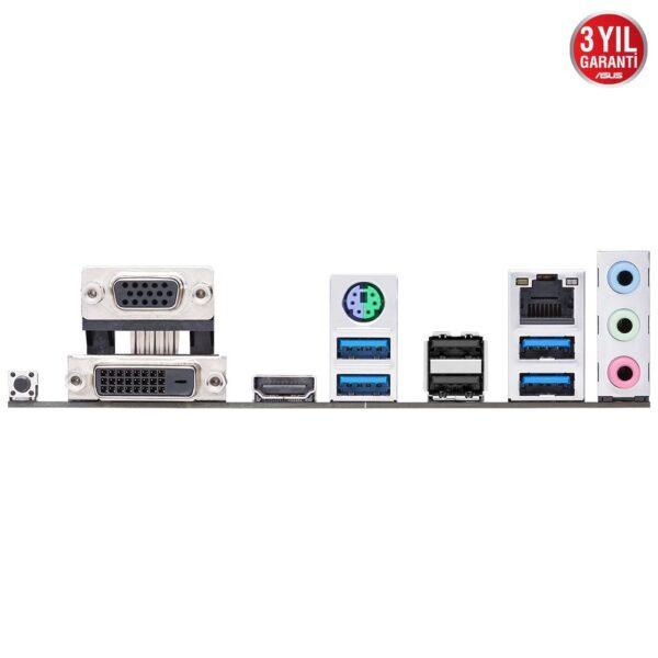 ASUS PRIME B450M-K II AMD AM4 4400MHz (OC) DDR4 VGA DVI-D HDMI M.2 mATX Anakart - Anakart 7