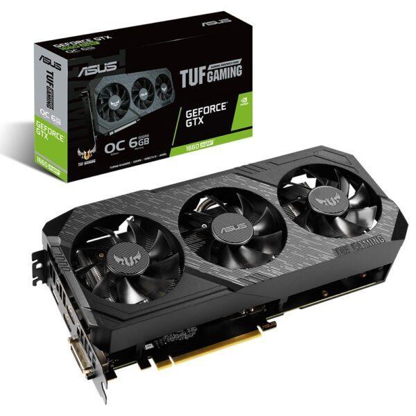 ASUS GeForce TUF 3 GTX 1660 SUPER O6G GAMING 6GB DDR6 192Bit Ekran Kartı - Ekran Kartı