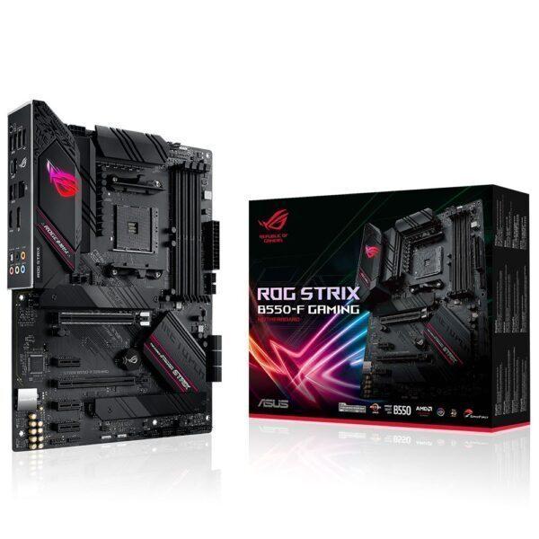 asus rog strix b550 f gaming 4600mhzoc ddr4 soket am4 hdmi dp atx anakart - ASUS ROG STRIX B550-F GAMING 4600MHz(OC) DDR4 Soket AM4 HDMI DP ATX Anakart