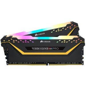CORSAIR 16GB (2x8GB) Vengeance RGB PRO TUF Edition 3200MHz CL16 DDR4 Dual Kit Ram - RAM Bellek