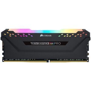 CORSAIR 8GB Vengeance RGB PRO Siyah 3200MHz CL16 DDR4 Single Kit Ram - RAM Bellek