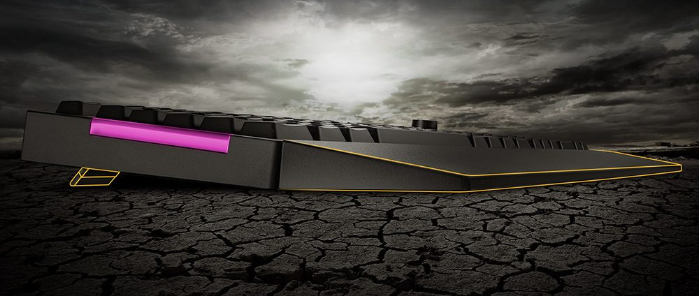ASUS TUF Gaming K1 Mekanik Hisli Türkçe RGB Oyuncu Klavyesi