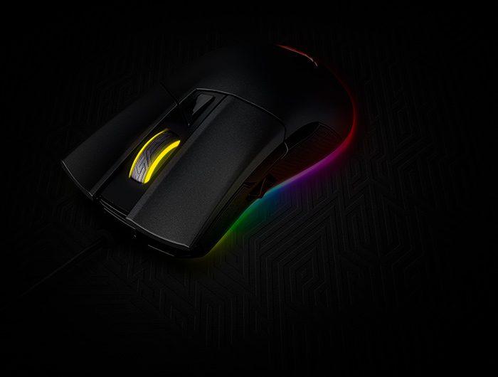 ASUS ROG Gladius II Origin 12000 DPI 6 Tuş RGB Gaming Mouse (Yedek Switch Hediyeli)
